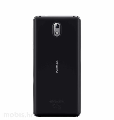 OUTLET: Nokia 3.1 2GB/16GB Dual SIM: crna