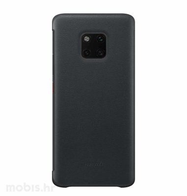 Preklopna maska View za Huawei Mate 20 Pro: crna