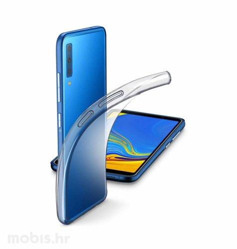 Silikonska maskica za Samsung Galaxy A7 2018: prozirna