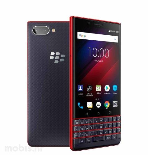BlackBerry Key 2 LE 64GB Dual SIM: crveno plavi