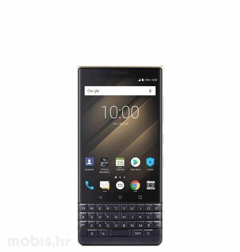 BlackBerry Key 2 LE 64GB Dual SIM: zlatno plavi