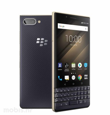 BlackBerry Key 2 LE 64GB Dual SIM: zlatno plavi