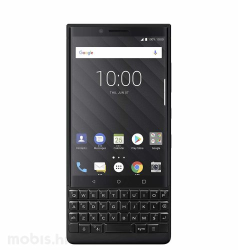 Blackberry Key 2 128GB Dual SIM: crni