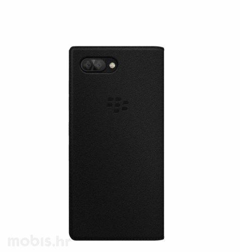 Preklopna maskica za BlackBerry KEY2: crna
