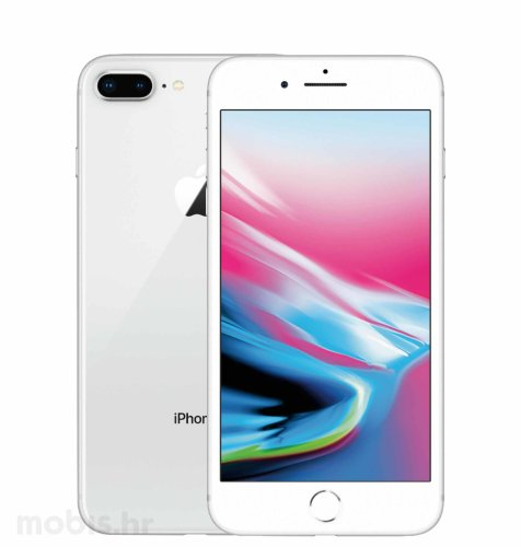 Apple iPhone 8 Plus 256GB: srebrni