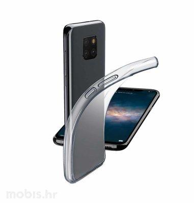 Silikonska maskica za Huawei Mate 20 Pro: prozirna