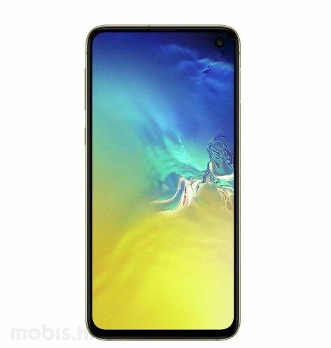 Samsung Galaxy S10e 128GB: žuti
