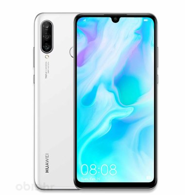 Huawei P30 lite Dual SIM: bijeli + 2x Huawei Mini Speaker CM510: crni