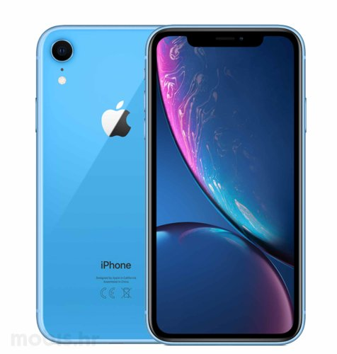 Apple iPhone XR 64GB: plavi