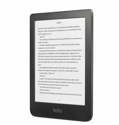 """Book čitač Clara HD 6"""", 8GB Wi-Fi: crni"""