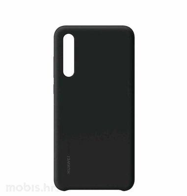 Huawei silikonska maska za Huawei P30: crna