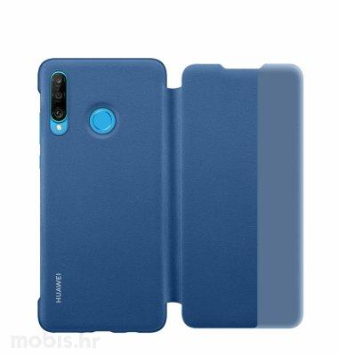 Huawei preklopna maska Smart View za Huawei P30 lite: plava