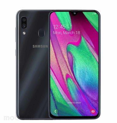Samsung Galaxy A40 4GB/64GB Dual SIM: crni