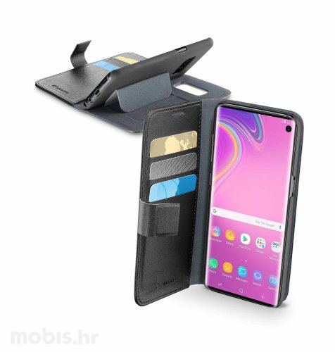 Preklopna maskica za Samsung Galaxy S10e: crna