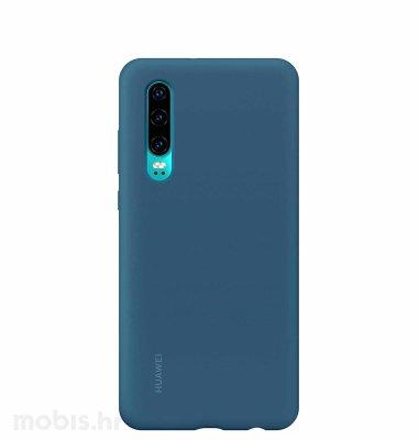 Huawei silikonska maska za Huawei P30: plava