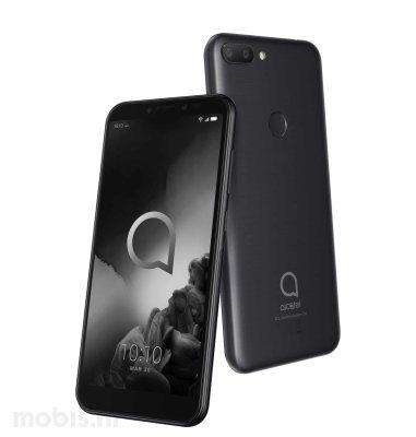 Alcatel 1S Dual SIM (5024D): metalik crna