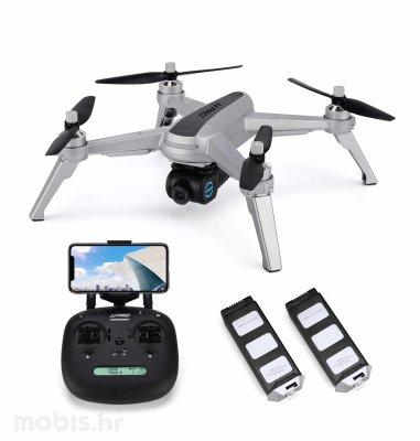 JJRC dron s kamerom X5: sivi