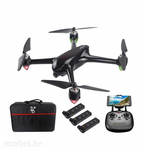 JJRC dron s kamerom X8: crni