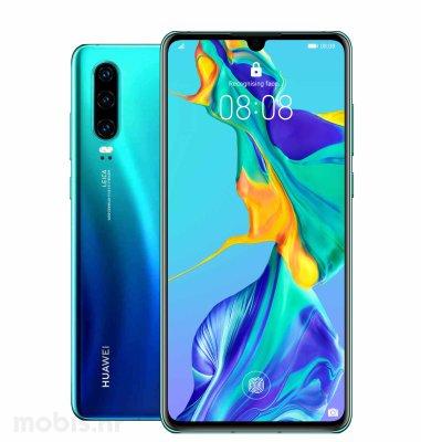 Huawei P30 6GB/128GB Dual SIM: aurora + BT FreeBuds slušalice