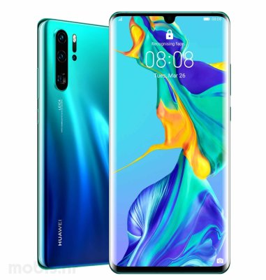 Huawei P30 PRO 8GB/256GB Dual SIM: aurora + BT FreeBuds slušalice