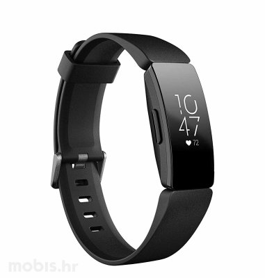 Fitbit Inspire HR pametna narukvica: crna