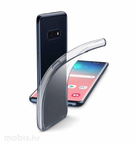 Silikonska maskica za Samsung Galaxy S10e: prozirna