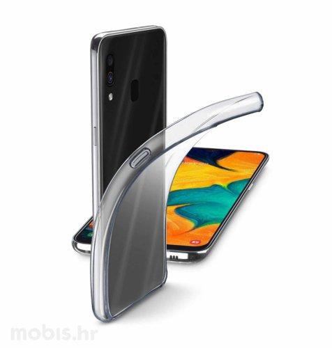 Silikonska maskica za Samsung Galaxy A40: prozirna