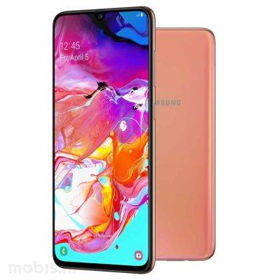 Samsung Galaxy A70 Dual SIM 6GB/128GB: narančasti