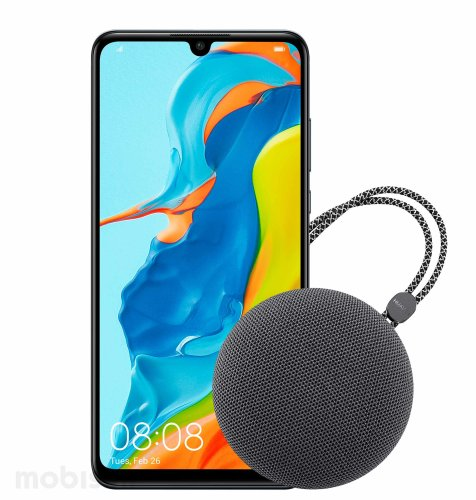 Huawei P30 lite Dual SIM: ponoćno crni + BT zvučnik CM51