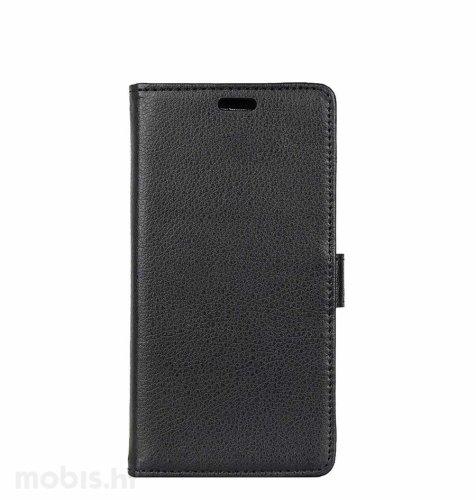 Preklopna maska za Xiaomi Redmi Note 7: crna