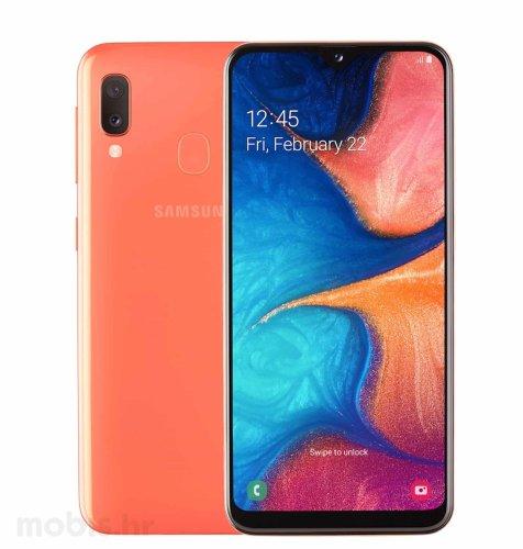 Samsung Galaxy A20E Dual SIM 3GB/32GB: narančasti
