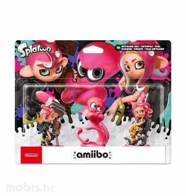 Igra Amiibo Splatoon Splatoon 2 Octoling Boy Girl Octopus (3 pack)