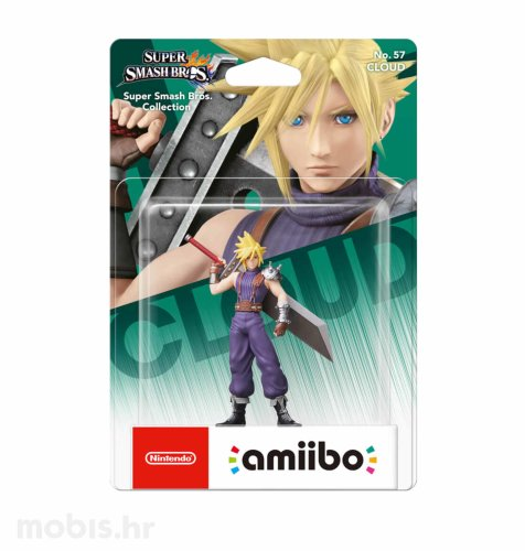 Igra Amiibo Super Smash Bros Cloud no 57