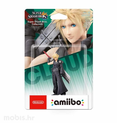 Igra Amiibo Super Smash Bros Cloud no 58