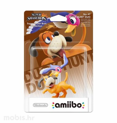 Igra Amiibo Super Smash Bros Duck Hunt Duo no 47