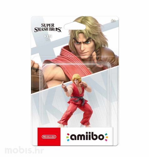 Igra Amiibo Super Smash Bros Ken