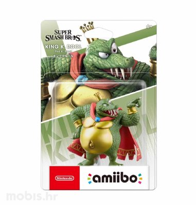 Igra Amiibo Super Smash Bros King K. Rool