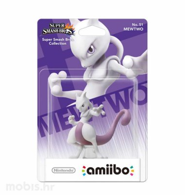 Igra Amiibo Super Smash Bros Mewtwo no 51