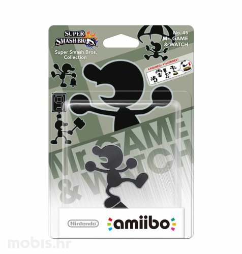 Igra Amiibo Super Smash Bros Mr. Game-Watch no 45