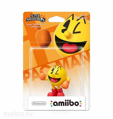 Igra Amiibo Super Smash Bros Pac Man no 35