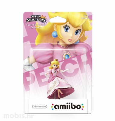 Igra Amiibo Super Smash Bros Peach no 2