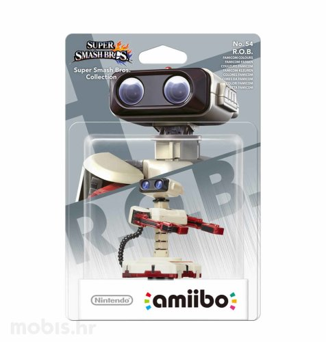 Igra Amiibo Super Smash Bros R.O.B. Famicom Colors no 54