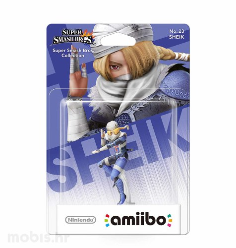 Igra Amiibo Super Smash Bros Sheik no 23