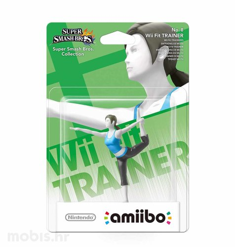 Igra Amiibo Super Smash Bros Wii Fit Trainer no 8