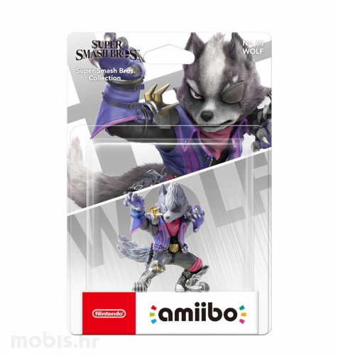 Igra Amiibo Super Smash Bros Wolf no 63