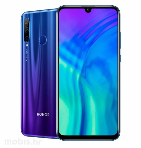 Honor 20 lite: plavi