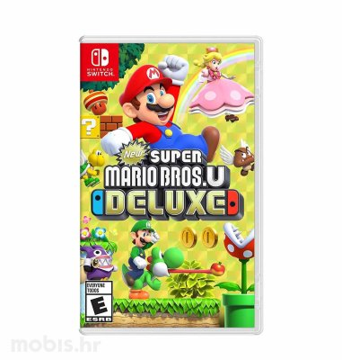 Super Mario Bros U Deluxe igra za Nintendo Switch