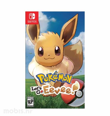Pokemon Let's Go Evee igra za Nintendo Switch