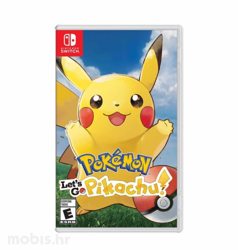 Pokemon Let's Go Pikachu igra za Nintendo Switch