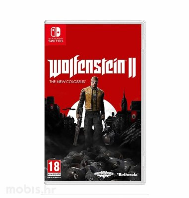 Wolfenstein 2 The New Colossus igra za Nintendo Switch